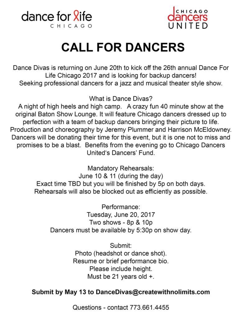 Calling All CEA Dancers!